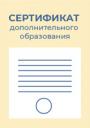 Сдать документы на получение сертификата ПФДО (приостановлено)